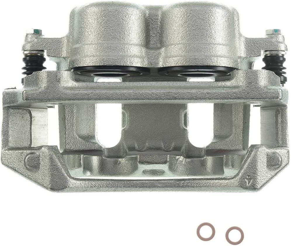 A-Premium Brake Caliper Assembly Compatible with Ford F-150 Lobo 1996-2004 Front Passenger Side