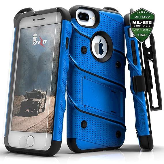 02cc1694c834 Amazon.com  Zizo Bolt Series iPhone 8 Plus  7 Plus  6 plus 6s plus ...