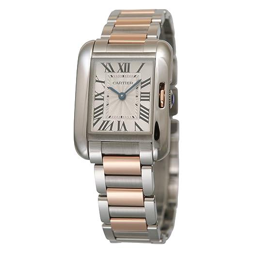 new arrival 8de93 78a91 Amazon | [カルティエ]Cartier 腕時計 タンクアングレーズ ...
