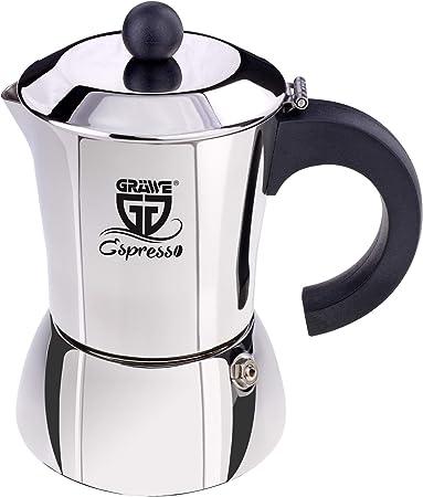 GR/ÄWE Trichtereinsatz f/ür Espressokocher Edelstahl 6 Tassen