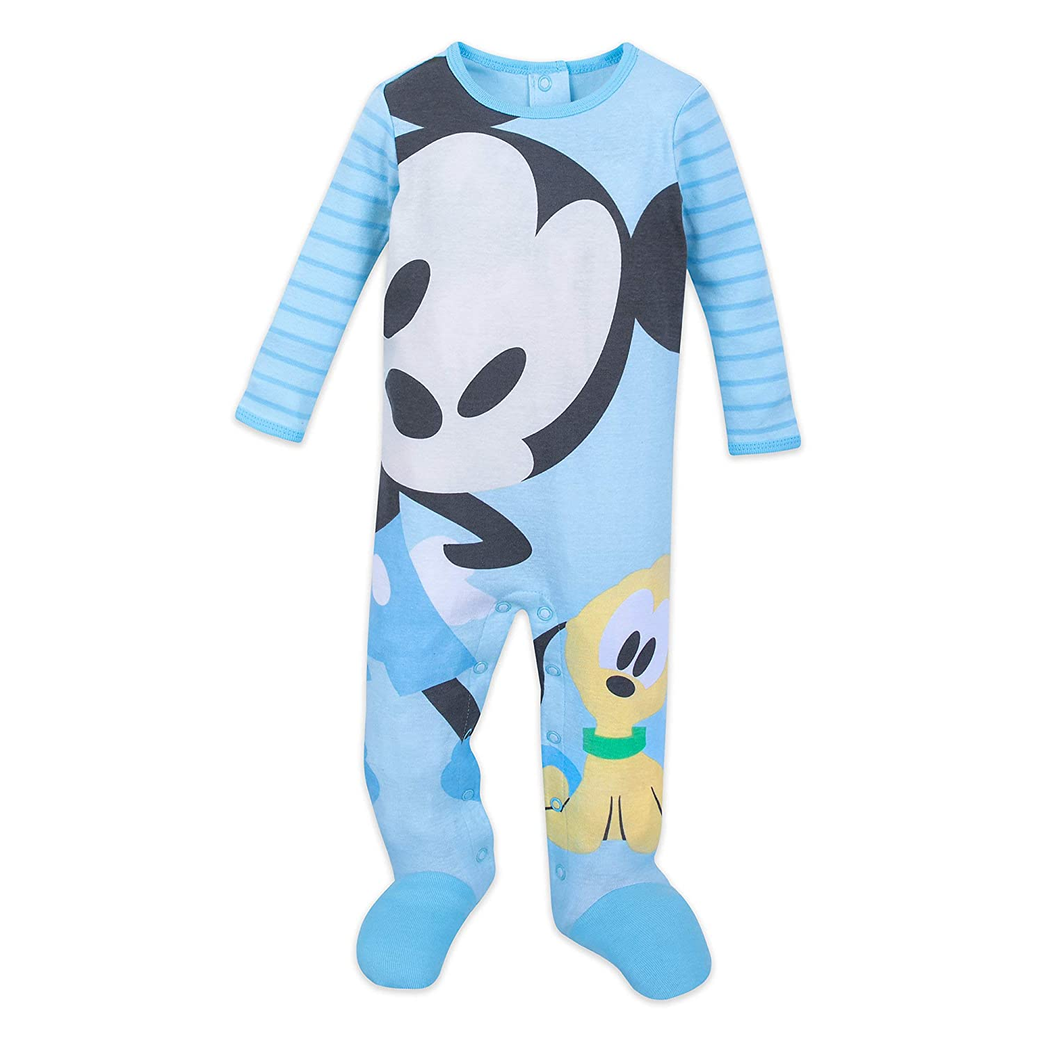 Disney Mickey Mouse and Pluto Stretchie Sleeper for Baby Size 4