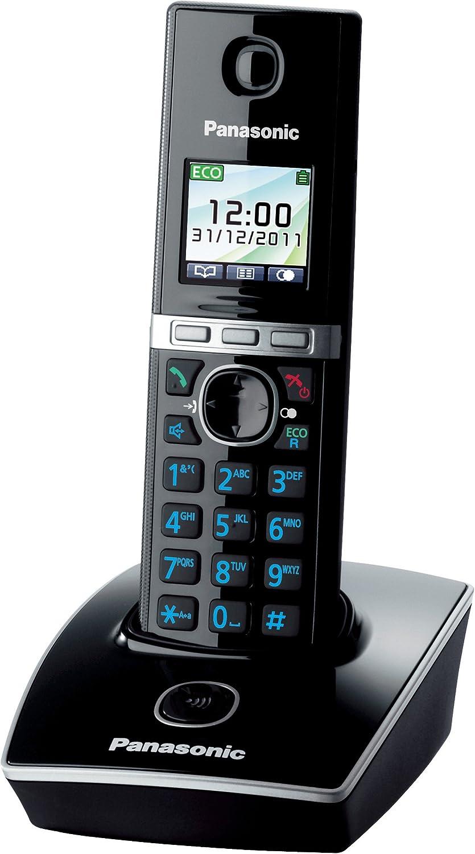 Blanco TFT 200 entradas 90 x 48 x 122 mm Negro Panasonic KX-TG8051GB 0.065000 M