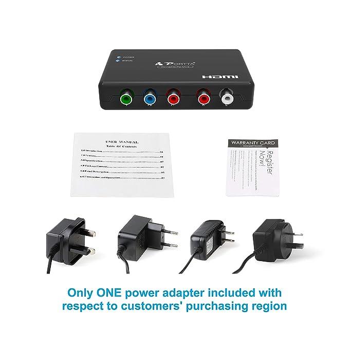 PS2 zu HDMI Video Converter AV Adapter 3.5mm Audio Ausgang HDMI Connect le