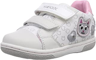 Geox B Flick G F, Baskets mode bébé fille Baskets mode bébé fille