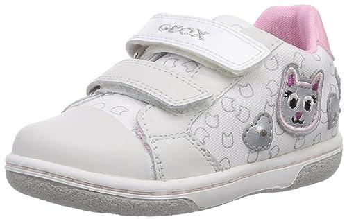 Geox B Flick Girl F, Scarpine Primi Passi Bambina