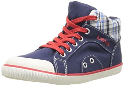 Levi's 362370-20, Baskets mode mixte enfant - Bleu (Marine), 31 EU