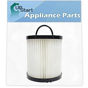 UpStart Battery Replacement Eureka 4236AZ Comfort Clean Upright Vacuum Dust Cup Filter - Compatible Eureka DCF-21 Filter