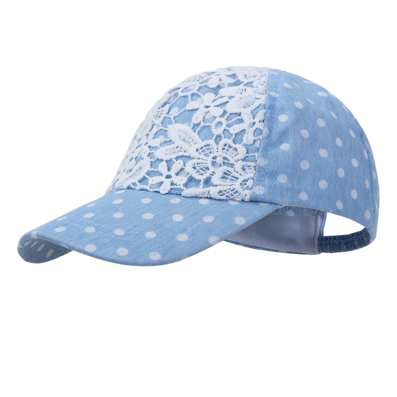 Amazon.com  vivobiniya Baby Girl Sun Hats Toddler Girl Summer Baseball Cap  Gray and Blue  Clothing 2e1fa76f6a3