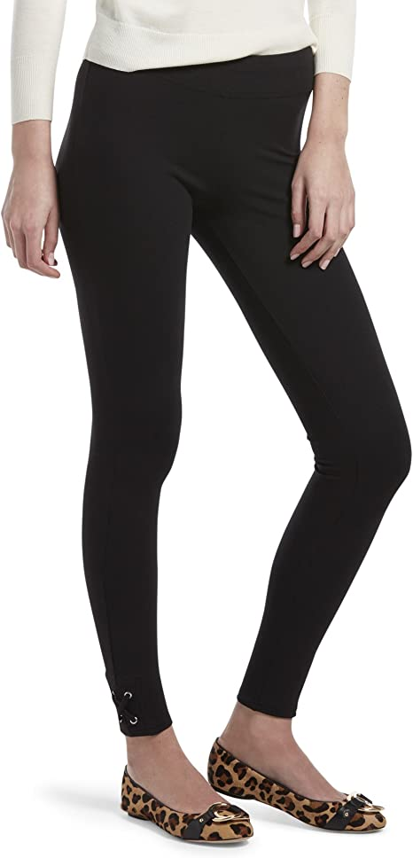 Amazon.com: HUE - Leggings de algodón para mujer, talla ...