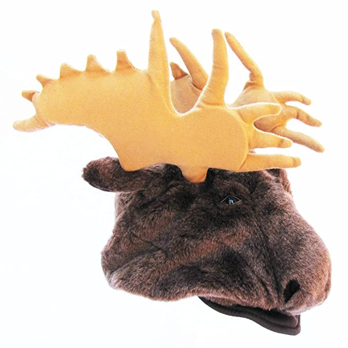 a599c129946 Moose Antlers Elk Horns Fur Costume Hat  Amazon.ca  Clothing   Accessories