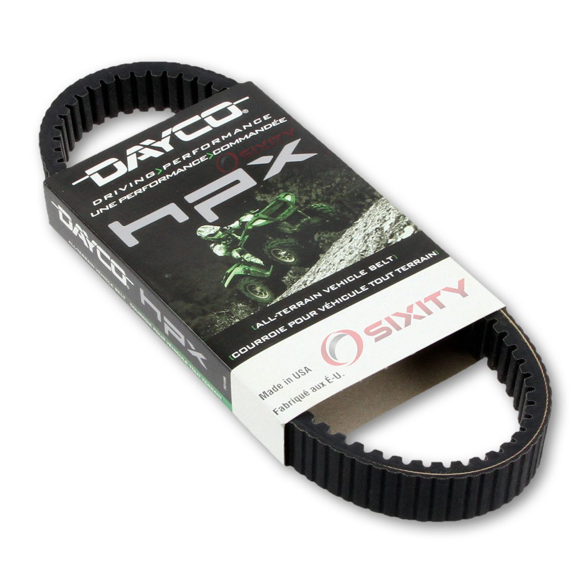 1995-1997 Polaris Magnum 425 4x4 Drive Belt Dayco HPX ATV OEM Upgrade Replacement Transmission Belts