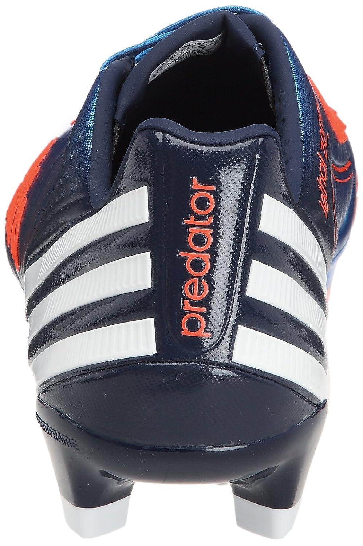 adidas Predator Lz Trx Fg, Chaussures de football mixte adulte - Bleu (V20975), 42 EU