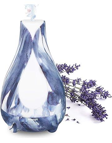 Difusor de Aceites Esenciales, MengK 200ml Humidificador Ultrasónico Aromaterapia Difusor de Aroma, 7 Color