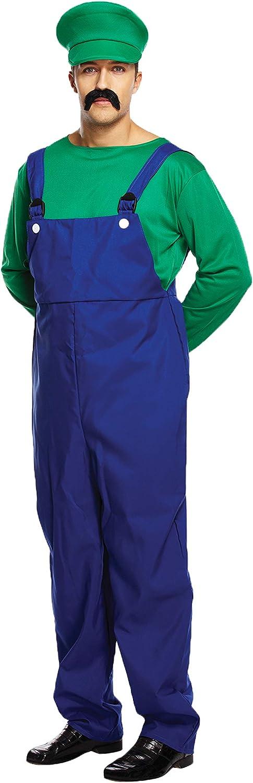 Men's Mario or Luigi Budget Price Super Workman Costume