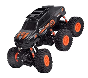 Buy Toyshine 6 Wheel Rock Car Remote Control Car Monster Tuck Rechargeable Multi Color Online At Low Prices In India Amazon In