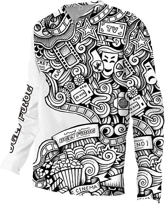 Uglyfrog Invierno Fleece Wear 2020 Downhill Jersey Manga Larga De ...