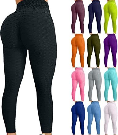 THEONE99 Workout Leggings for Women Yoga Pants Tummy Control Leggings Tight Anti Cellulite High Waist Butt Lifting