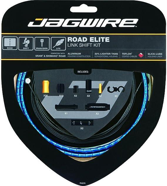 Blue Jagwire Road Elite Link Teflon Coated Shift Cable Kit For Sram//Shimano
