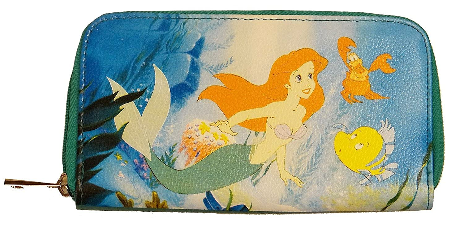 Disney The Little Mermaid Ariel Zip-Around Wallet Concept One