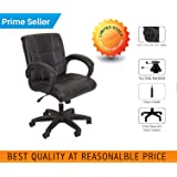 SEAT CHACHA Deluxe L Shape Chair ( Black Leatheritte With Tillting Mechanism )