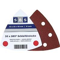SBS triángulos de lija con velcro 93x 93x