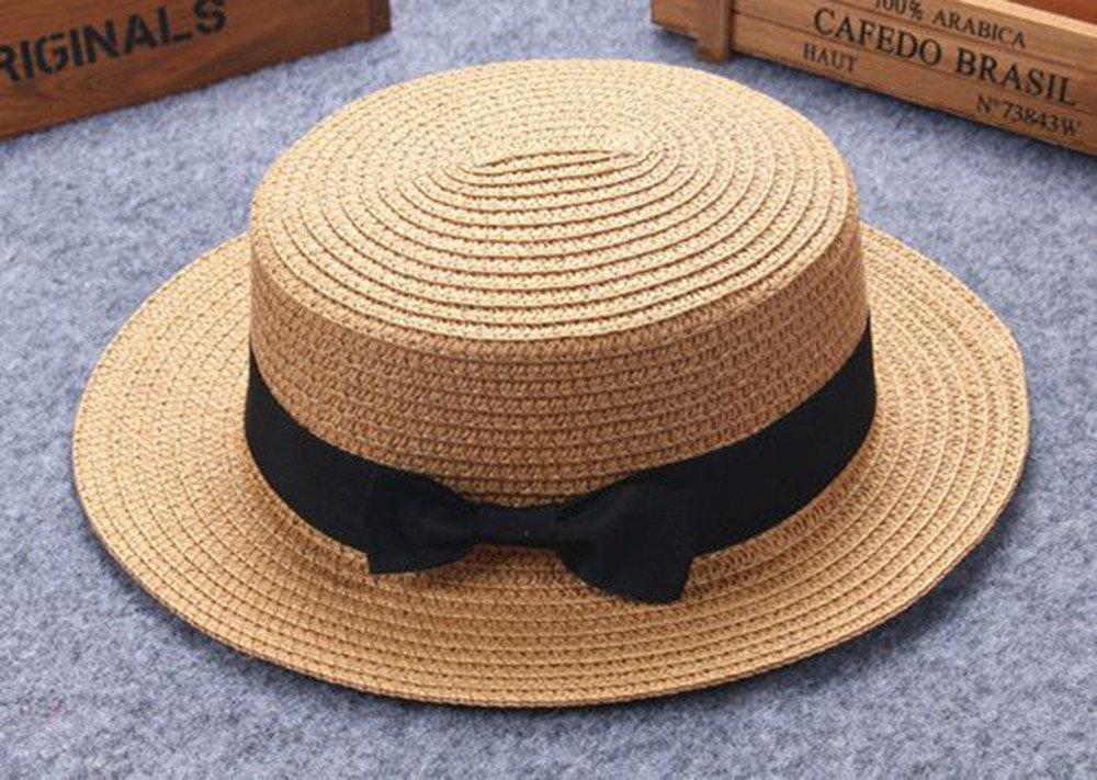 Topgrowth Cappello Donna Cappelli Paglia Vacanza Spiaggia Traspirante Cappello di Paglia Berretto Cappello Visiera
