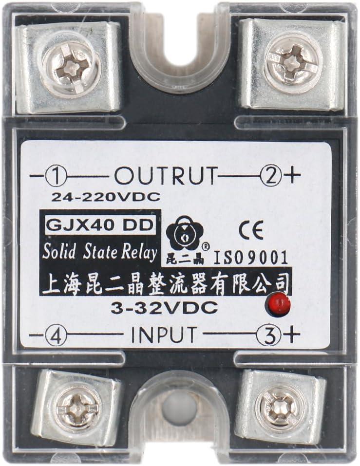 24-480V AC 10A WerFamily SSR Solid State Relay SSR-10DA DC-AC 3-32V DC