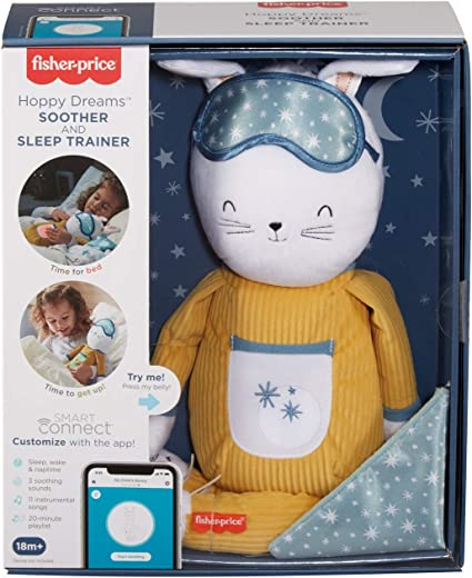 Fisher Price//Mattel Canada Hoppy Dreams Soother /& Sleep Trainer