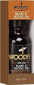 Woodys Beard & - Aceite de tatuaje 30 ml: Amazon.es: Belleza