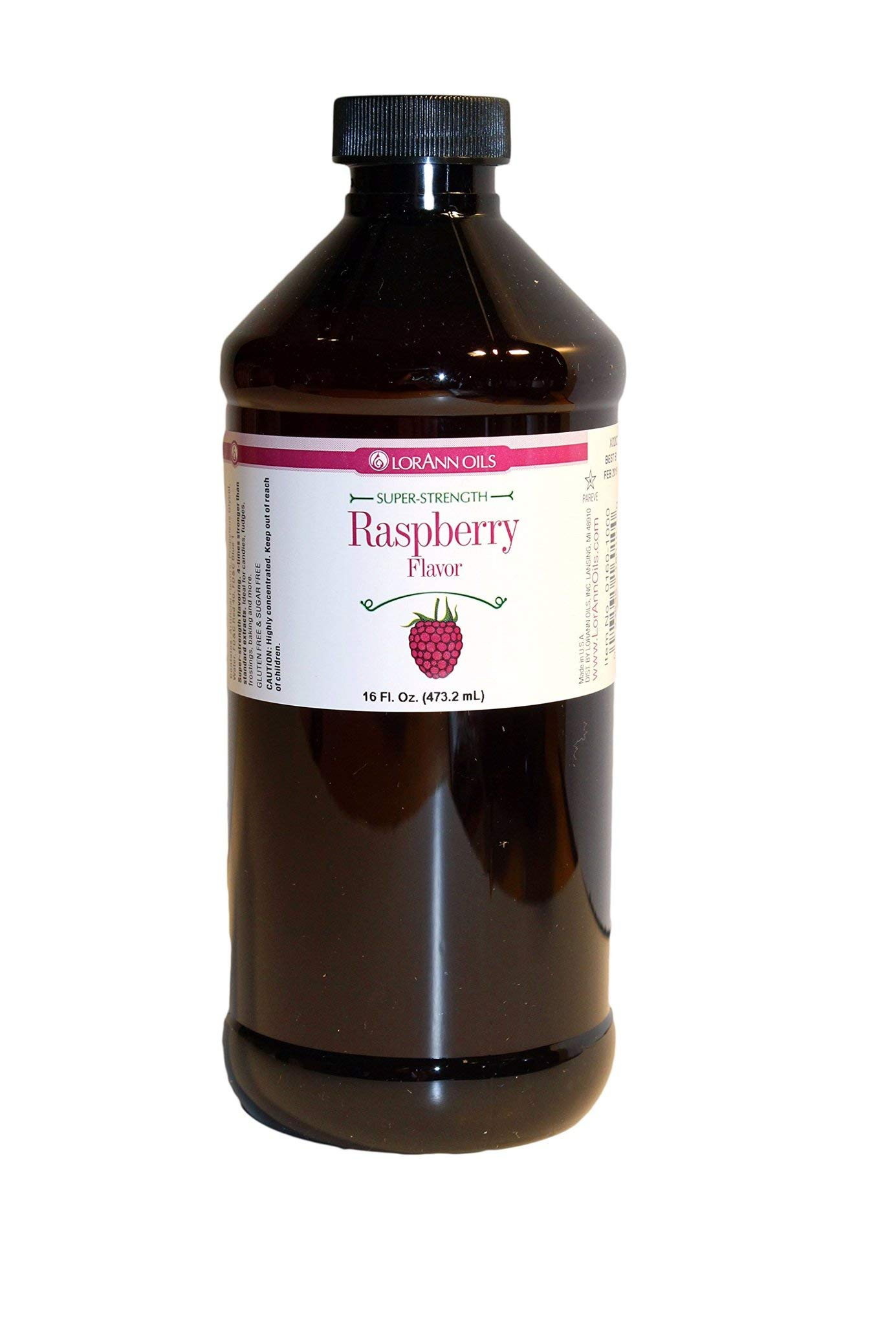 LorAnn Super Strength Raspberry Flavor, 16 Ounce by LorAnn (Image #1)