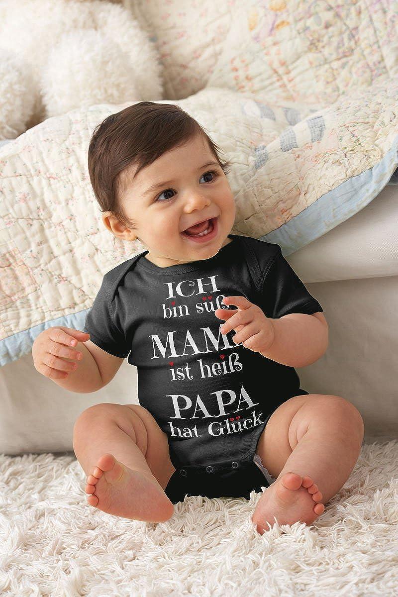 Baby in lustigem Babybody