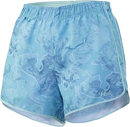 HUK Womens Chillin Deck Short Performance Quick-Drying Short with 30 UPF Sun Protection