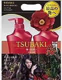 【本体セット】TSUBAKI エクストラモイスト シャンプー&コンディショナージャンボペアセット