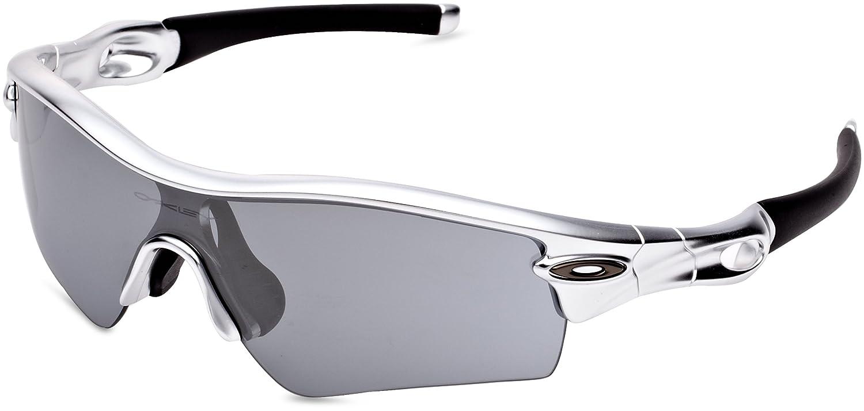 716533172d Amazon.com  Oakley Men s Radar Path Polished White w  Red Iridium  Sunglasses  Shoes