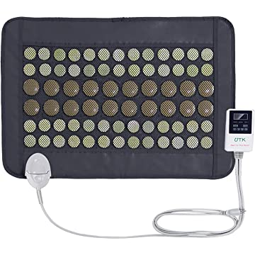 top best UTK® Far Infrared Natural Jade and Tourmaline Heating Pad Mat for Pain Relief Small Pro