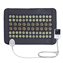 UTK® Far Infrared Natural Jade and Tourmaline Heating Pad Mat for Pain Relief Small Pro