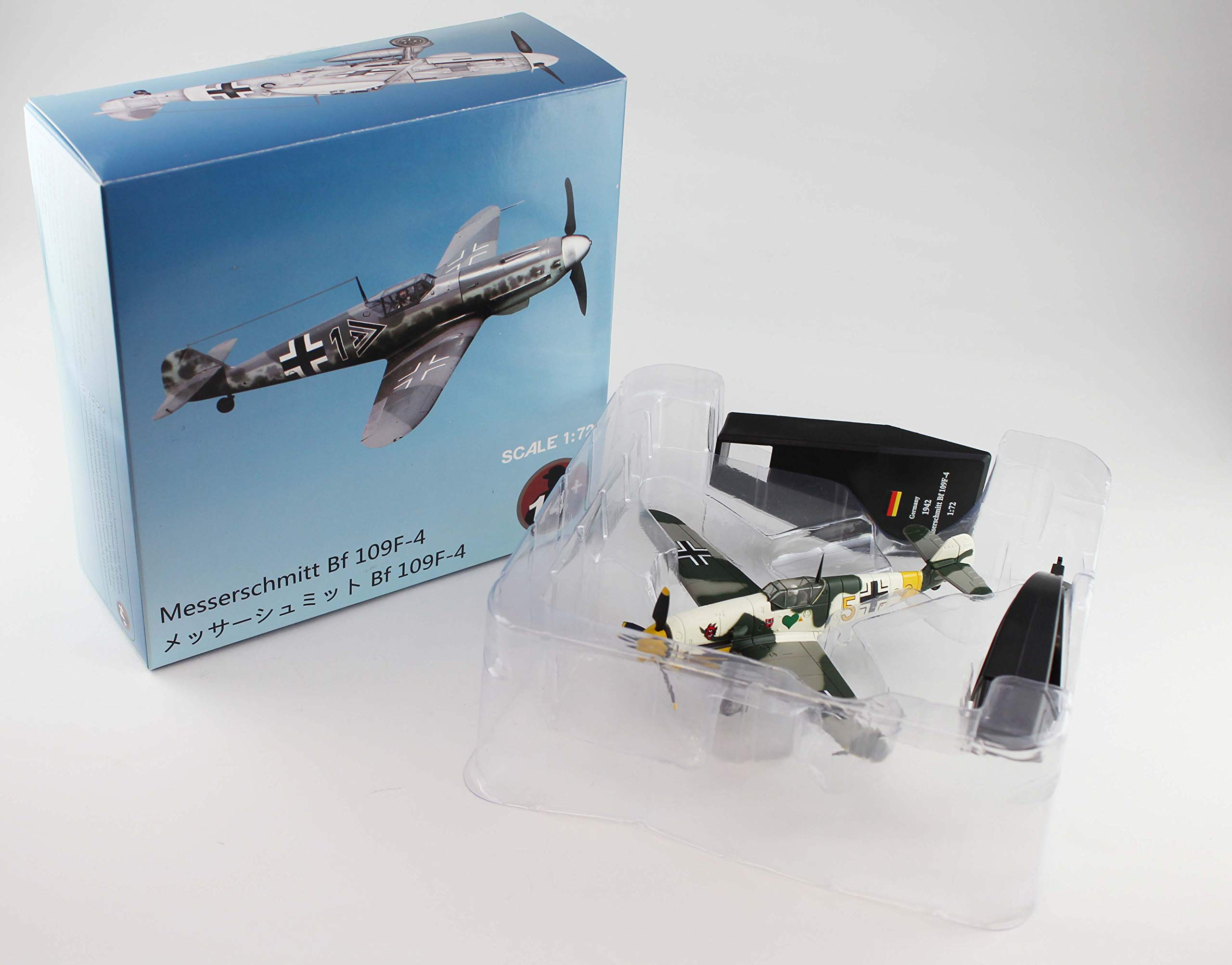 JL Model 1/72 Messerschmitt Bf109F-4 1942 Finished Product by Hobby Japan (HobbyJAPAN)