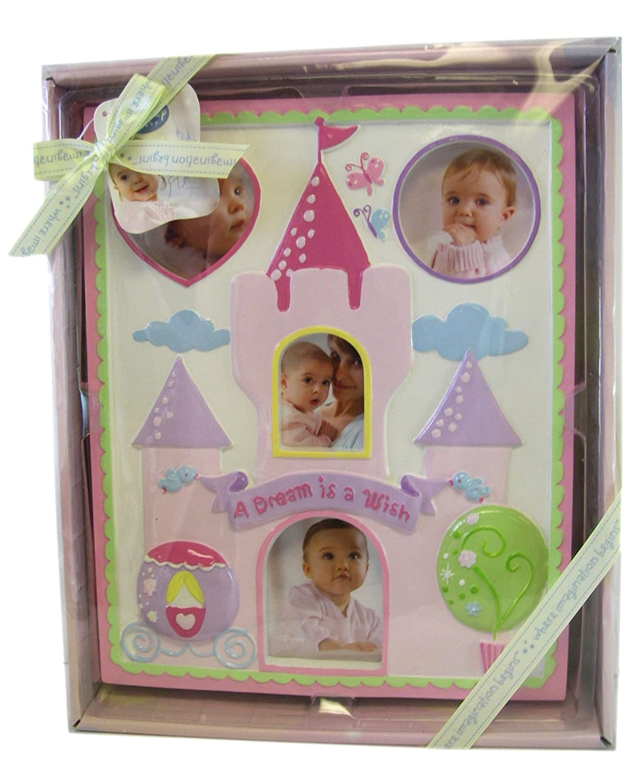 Disney Baby Girl Pink Milestone Picture Frame Shower Gift