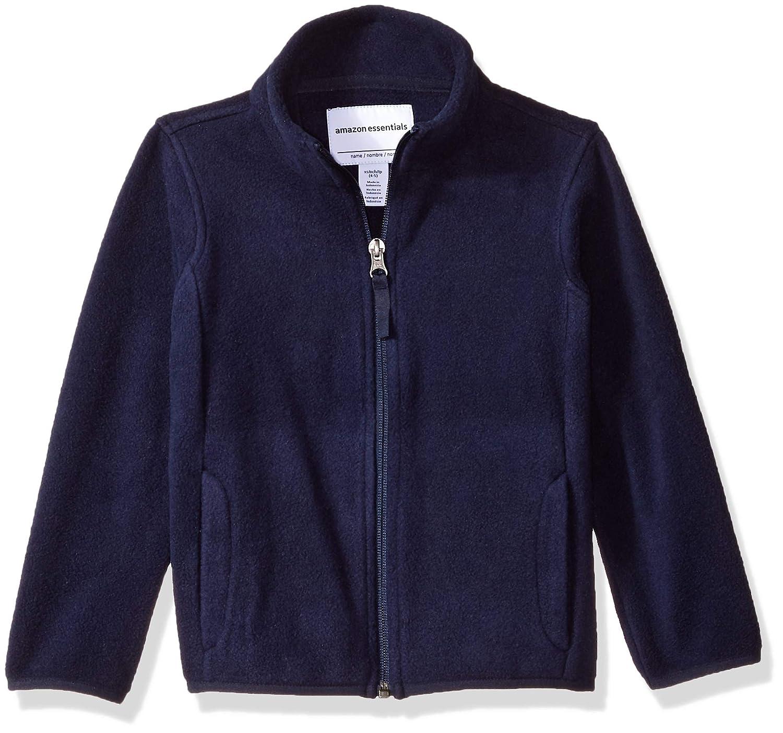 Essentials Girls Full-Zip Polar Fleece Jacket