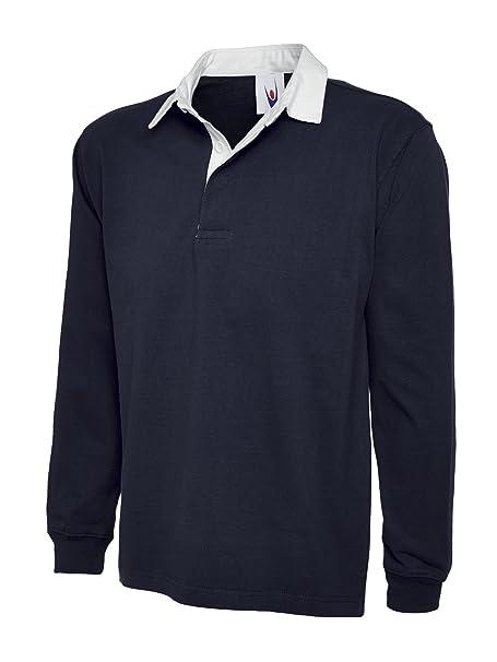 uc401 Uneek 330 gsm Premium Camiseta de Rugby.: Amazon.es: Ropa y accesorios