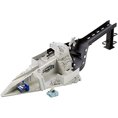 Hot Wheels Star Wars Starship Launcher: Toys & Games