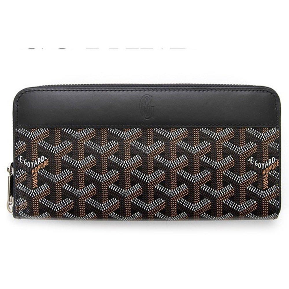 【GOYARD】ゴヤール 財布 ラウンドファスナー 長財布 メンズ レディース ブラック(黒) APMZIPGM01 BLACK [並行輸入品] B014IOSLIQ