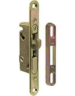 fpl 345s sliding glass door replacement mortise lock with adapter plate