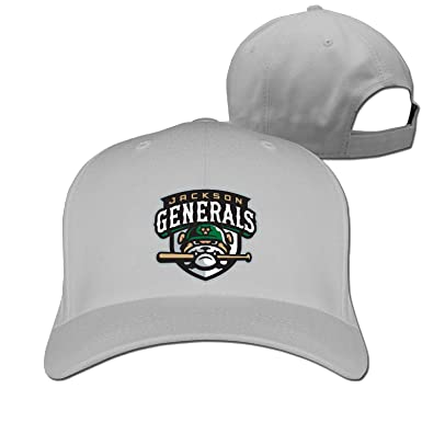Men Women Jackson Generals baseball logo Sport Baseball Visor Hat  Adjustable (6 colours) b213f0ef4e81