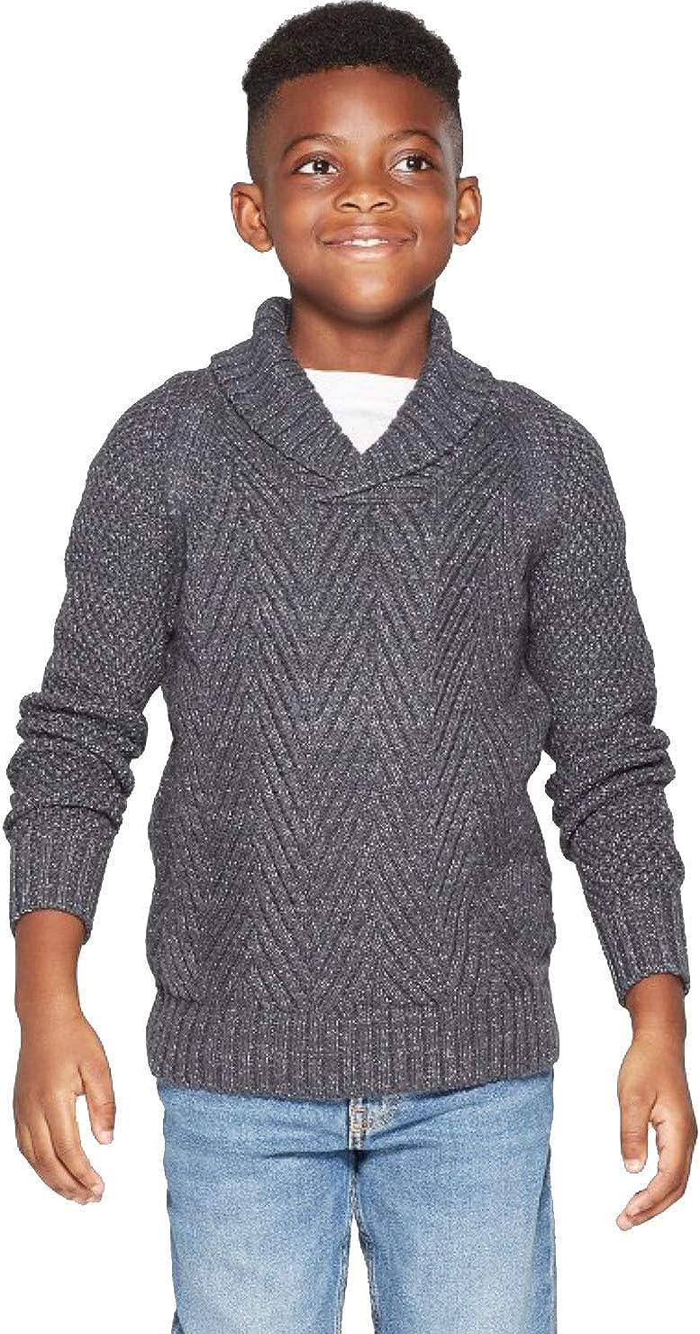 Cat /& Jack Boys Long Sleeve Pullover Sweater