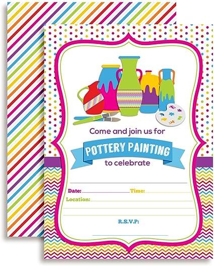Paint Party Invitation