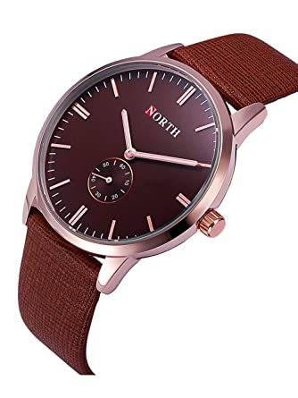 FENKOO Beautiful Watch Women s Watch Korean Fashion Watch Simple Women s  Small Table Digital face Leather Small Girl Ladies Watch (Color   1)   Amazon.co.uk  ... dca3f60db2