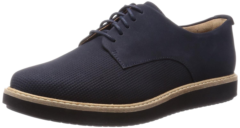 Clarks Women's Glick Darby Derby Blue Size: 7.5: Amazon.co.uk: Shoes & Bags