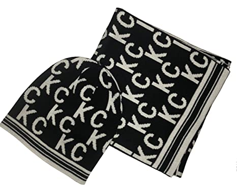 REACTION KENNETH COLE Signature KC Scarf   Beanie Set a3f949e011f