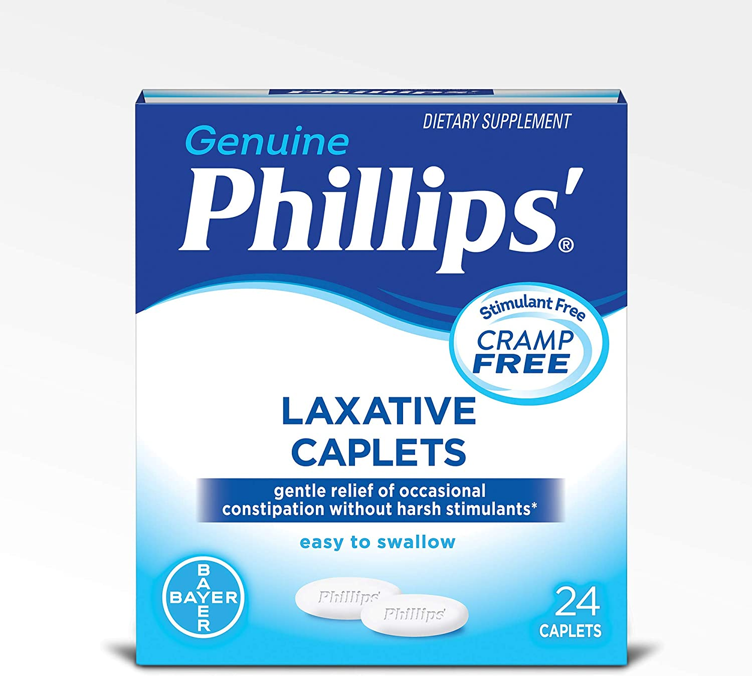 Phillips' Laxative Caplets (24-Count Box): Health & Personal Care
